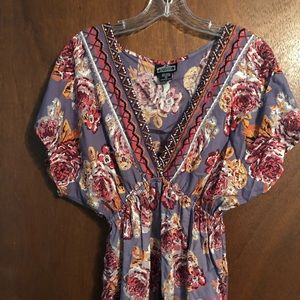 Printed Dress: size Small
